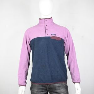 Patagonia snap T fleece jacket L synchilla